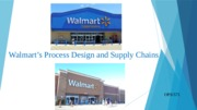 Process Design-Supply Chains 1