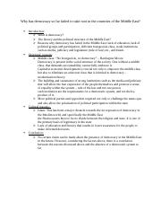 Professor Lieven Paper 2 Outline