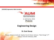 Lecture 5 - Engineering Design