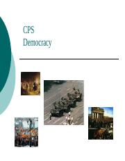 CPS 05 Democracy.ppt