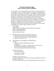 Guidelines for Sales Call Plan-Written.doc.docx
