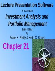 Chapter 21 - Forward and Futures Contracts.pptx