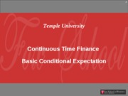 Continuous Time - HW Shreve Chapter 2