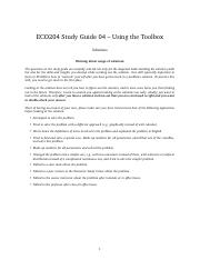 Study Guide 04 - Using the Toolbox - Solutions.pdf