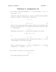 Math101Fall2012Assignment3Solutions