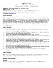 hcs 325 syllabus Hcs 325 experience tradition/newtonhelpcom hcs 325 week 1 the role of a health care manager worksheet (new syllabus) for more course tutorials visit wwwnewtonhelpcom hcs 325 week 1 the role of a health care manager the role of a health care manager health care management is a growing profession.