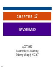 Chapter 17 investments kieso pptp denise kampf windhaven investments