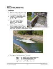 6300__Weirs_for_Flow_Measurement_Lecture_Notes