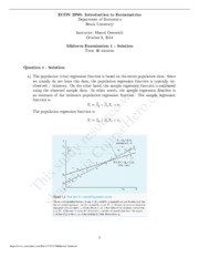 Midterm1 - Solution