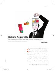 2007.09 Rules to Acquire By HBR.pdf