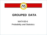 L4 Grouped Data