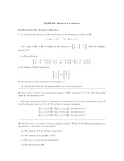 MATH 260 Problem Set 2 with Solutions