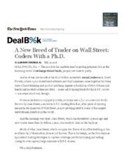 A New Breed of Trader on Wall Street_ Coders With a Ph.D.pdf