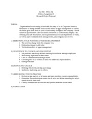 written assignment 4 - research proposal
