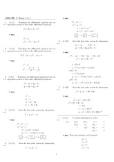Homework 6 Solution Spring 2008 on Differential Equations with Linear Algebra 1