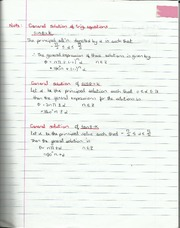 General Solutions of Trigonometric Solutions