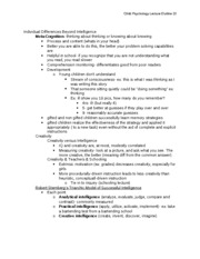 Child Psych Outline 23