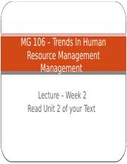 Lecture 2 Trends in HRM