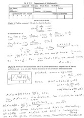 Math 119 2010-2011 Spring Final Solutions