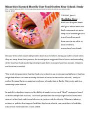 4.2 Article - Marketing - (2) Minorities Harmed Most By Fast copy