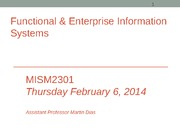 MISM2301 Functional Info Systems Overview (Session 14)-Sec4(1)