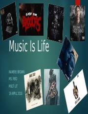 Music Is Life.pptx