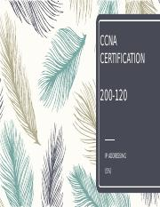 CCNA CERTIFICATION ipv4 and ipv6