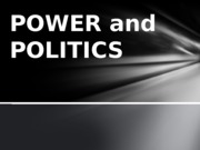 5 - Student Copy Power and Politics