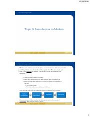 TOPIC 9 - Introduction to Markets - ST VERSION - TC.pdf