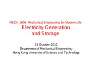 MECH lecture note 14 (Electricity generation)