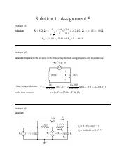 Solution to Assignment 9.pdf