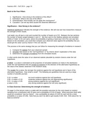 Lecture Notes 1b - 2014f