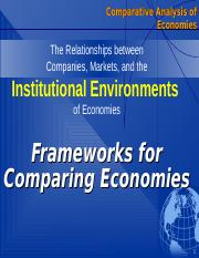 8. Frameworks for Comparing Economies new.ppt