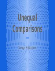Unequal Comparisons.pptx