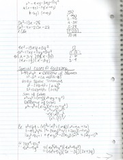 Intermediate Algebra Section5.5 Factoring Trinomials cont'd