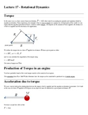 PHY 141 Lecture 17