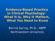 CUDCP_Evidence-Based_Practice_in_Clinical_Psychology_Spring