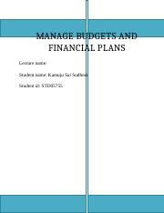 MANAGE BUDGETS AND FINANCIAL PLANS a2.docx