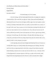 essay god of carnage