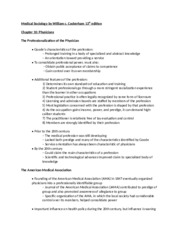 Textbook notes chapter 10- MS