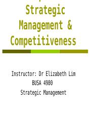 C1 Strategic Competitiveness.ppt