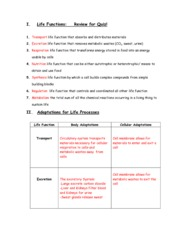 lifefunction-reviewsheet