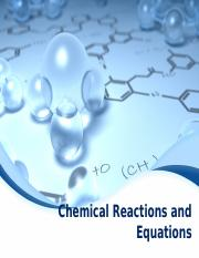 Chemical Reactions and Equations (1)