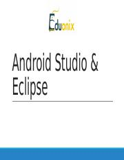 2. Eclipse-And-Android-Studio