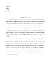 Gatsby Essay Analysis_Celine Lee