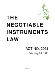 law-on-negotiable-instruments