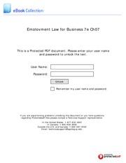 mgt 434 employment law employeremployee relationship essay