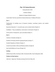 1181-tmorgan-006228-Phys. 313 Classical Mechanics 2018 Syllabus.docx