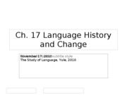 ch_17_Language_History_and_Change