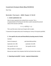 MBA 539 11_18_2013 Lecture Notes (A)